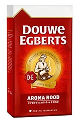 Douwe Egberts Aroma Rood Ground Coffee, 8.8-Ounce Packages (Pack of 3) by Douwe Egberts