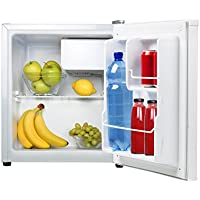 Tristar KB-7352 Refrigerador, Acero Inoxidable, Color Blanco, 45.8x45.8x54 cm