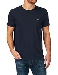 Lacoste Pima Jersey Crew T-shirt - Navy