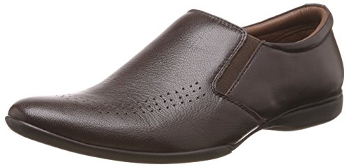 BATA Men's Neymar Brown Leather Formal Shoes