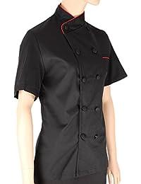 MISEMIYA - Chaquetas Chef Uniforme COCINERA MARMINTÓN SOLLASTRE GUISANDERO ADOBADOR Salsero- Ref.8441