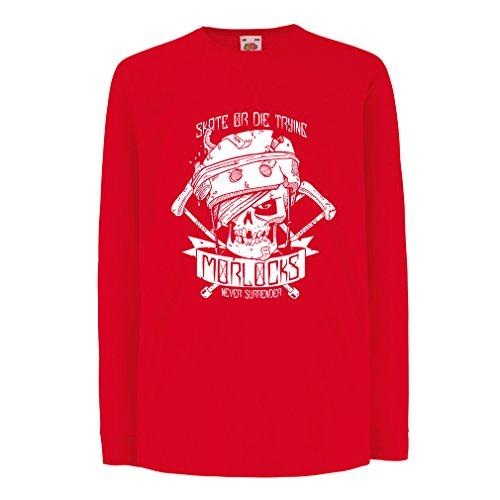 lepni.me N4605D La camiseta de los niños con mangas largas Skate or...