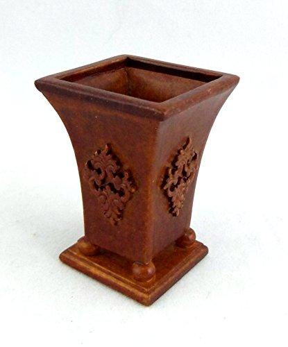 Puppenhaus Feine Miniatur Zubehör Walnussholz Bromley Pflanzengefäß Ständer