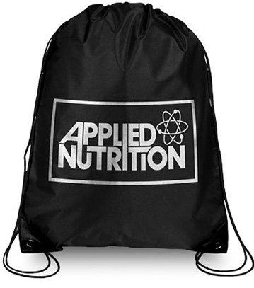 Applied Nutrition Gymbag Sporttasche Gymtasche Turnbeutel Beutelrucksack Rucksack Sport Bodybuilding Schwarz/Silber