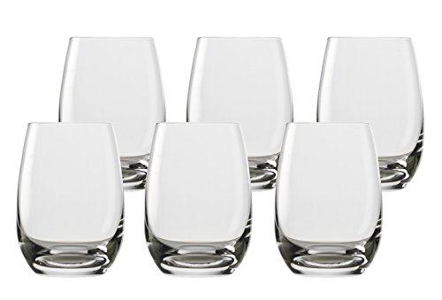 Stölzle Becher 6er-Set Saftbecher Trinkglas Tumbler NEU OVP Transparent