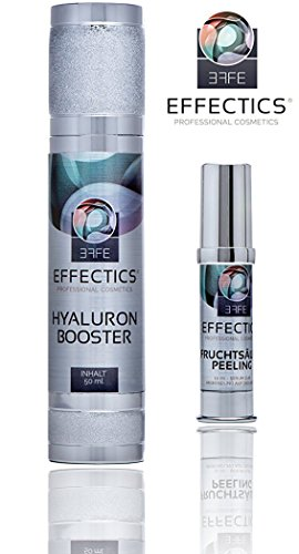 Hyaluronsäure Konzentrat Gel – von Effectics | hochdosiertes Hyaluron Anti-Aging Serum 50 ml – MADE IN GERMANY
