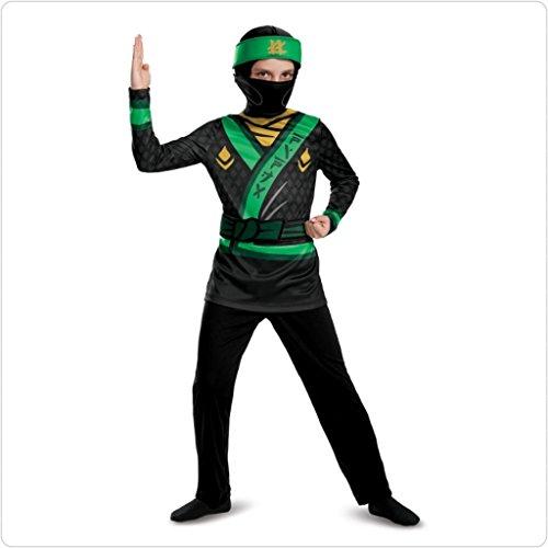 LEGO Ninjago Film 51800K-eu Lloyd Jumpsuit Dress Up Kostüm, mehrfarbig, (Kostüme Lego Kinder Für)