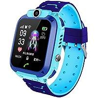 Lulalula Smart Watch Phone con GPS GSM Locator Touch Screen Tracker SOS Impermeabile Smartwatch con Gioco per Ragazzo…