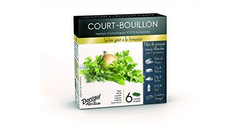 Court-bouillon - 6 x 10 g - Surgelé