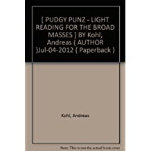 Pudgy Punz - Light Reading for the Broad Masses