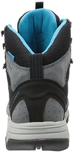 Helly Hansen W Rapide Mid Mesh Ht, Chaussures de Sport Femme Noir (990 noir / anthracite / givré)