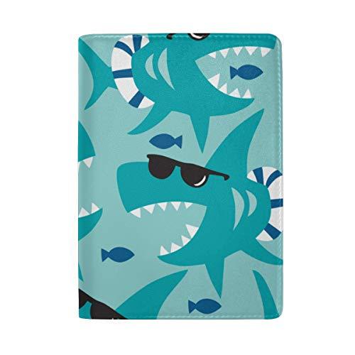 Cute Fashion Sonnenbrillen Blocking Print Passinhabers Hülle Reisegepäck Passport Wallet Kartenhalter Aus Leder Für Männer Frauen Kinder Familie