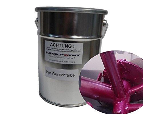 Lackpoint 1 Liter Spritzfertig Wasserbasislack Candy Lila Metallic Autolack -