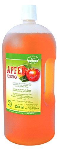 Hepp GmbH & Co KG - Apfelessig 2 l Henkelflasche