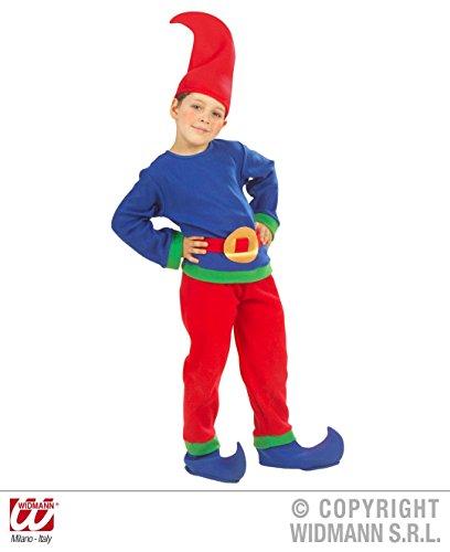 KINDERKOSTÜM - GNOM - Größe 110 (Halloween Kostüme Baby Gnome)