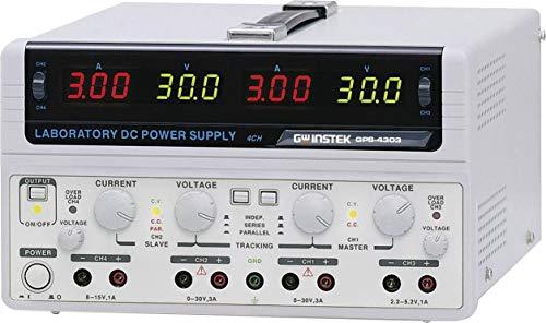 GW Instek Labornetzgerät, einstellbar GPS-4303-E 0-30 V/DC 0-3A 200W Anzahl Ausgänge 4 x Instek Gps