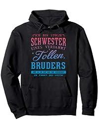 ich bin stolze schwester eines verdammt tollen bruders Pullover Hoodie