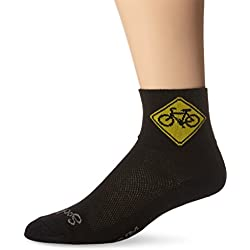 Sockguy Classic - Calcetines, Unisex, Color Share Black, tamaño L/XL