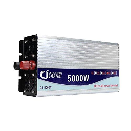 Wildlead 5000 Watt Spitze Modifizierte Sinus-wechselrichter DC12-48V zu AC220V Converter + LCD