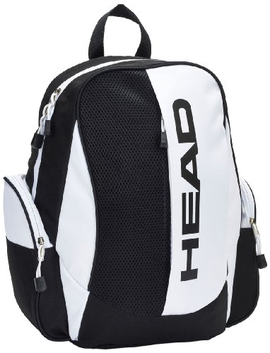 Head Vulcan - Mochila, color negro y blanco