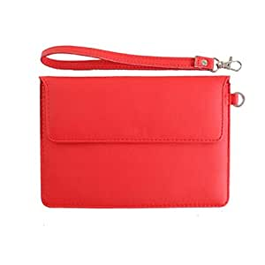 DooDa PU Leather Pouch Case Cover With Magnetic Closure & Video Viewing Stand For iBall 3G 7803Q-900