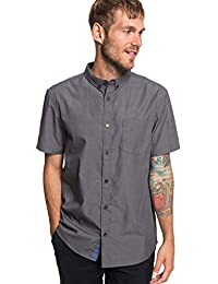 e943bdbf4f Quiksilver Valley Groove - Short Sleeve Shirt for Men - Men Black