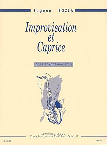 Eugene Bozza al20988Improvisation ET Caprice Saxophon Solo von Alphonse LEDUC (
