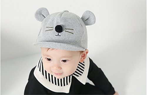 eqlef-1-piece-cute-baby-spring-and-autumn-cat-ears-modeling-cotton-hat-baby-baseball-cap