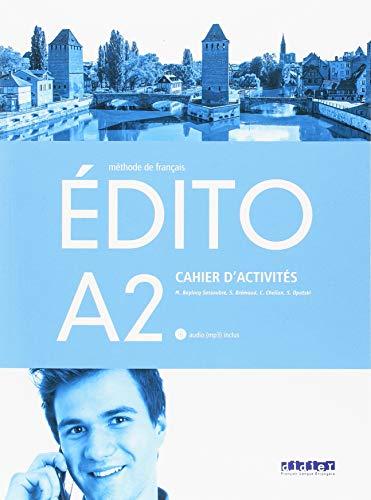 EDITO A2 EXERCICES+CD ED.18 por VV.AA.