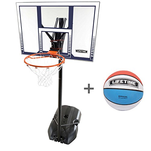 Lifetime Basketball-Anlage Boston mit Lifetime Ball Tricolor, 6804
