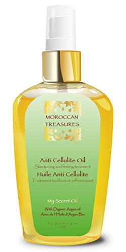 Anti Cellulite Massageöl mit Bio Arganöl / Pflegendes Für Straffere Haut Und Straffer Bauch....
