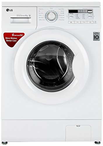 LG 6 kg Fully-Automatic Front Loading Washing Machine (FH0B8NDL22, Blue...