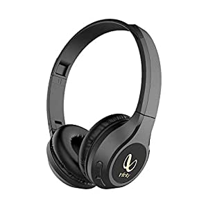 Infinity(JBL) Glide 510 On-Ear Wireless Headphone with Mic, 72 Hrs Playtime(Quick Charging), Dual Equalizer Deep Bass, Voice Assistant (Black)