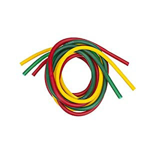Thera-Band Tubing set - Jaune / rouge / vert