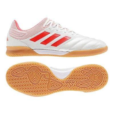 adidas Performance Copa 19.3 Sala Indoor Fußballschuh Herren weiß/neonrot, 10 UK - 44 2/3 EU - 10.5 US