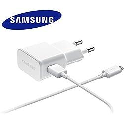 Chargeur Original Samsung 2A ETA-U90EWE Blanc compatible Samsung GT-i9505 Galaxy S4