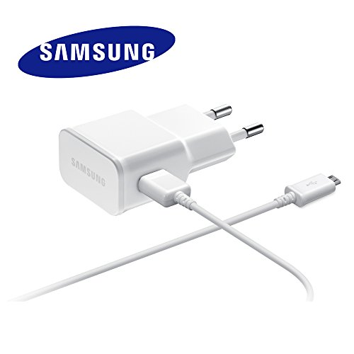 Samsung ETAU90EWE 2 Pin Charger with ECB-DU4AWE Data cable - 2 Samsung Grand Handy
