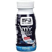 MYFITBODY Batido proteína líquido, tipo smoothie, sabor fresa - botella ...