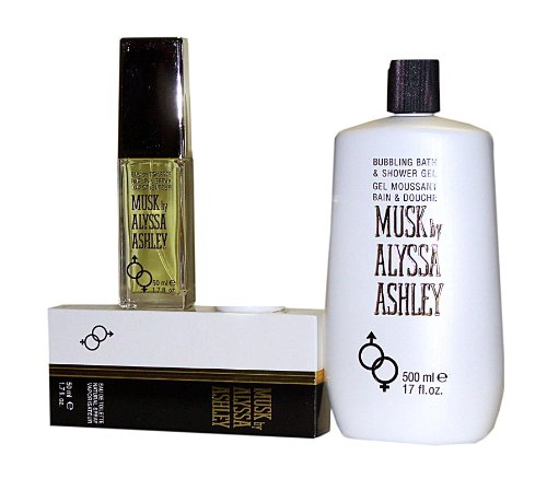 MUSK by Alyssa Ashley 2 tlg. Setangebot: Shower Gel 500 ml + Eau de Toilette 50 ml