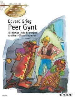 PEER GYNT SUITE 1 OP 46 + PEER GYNT SUITE 2 OP 55 - arrangiert für Klavier [Noten / Sheetmusic] Komponist: GRIEG EDVARD aus der Reihe: KLASSISCHE MEISTERWERKE ZUM KENNENLERNEN