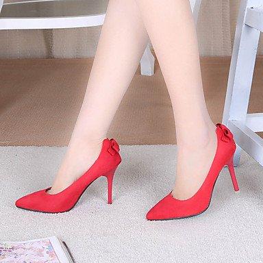 Moda Donna Sandali Sexy donna tacchi Primavera / Estate / Autunno tacchi / Punta PU Office & Carriera / Casual Stiletto Heel Altri Black
