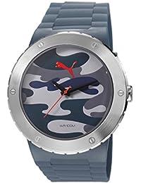 PUMA Time Blast L Reloj de Pulsera para hombres Reloj XXL