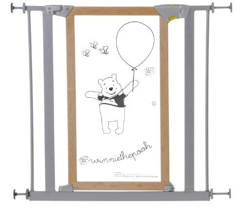 Hauck Disney Baby Winnie the Pooh Designer Safety Gate - Silver