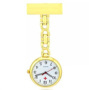BestFire Nurse Lapel Pin Watch Clip-on Hanging Medical ...