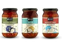 Pursuit Special Methia Mango, Sweet Katki and Hot Mango Lime Pickles(Combo Set of 3)