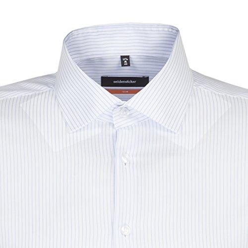 Michaelax-Fashion-Trade Camicia Classiche - Basic - Classico - Maniche Lunghe - Uomo Hellblau(11)