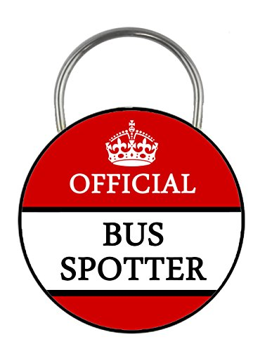 official-bus-spotter-printed-double-sided-key-ring-45mm-keyring-button-novelty-gift