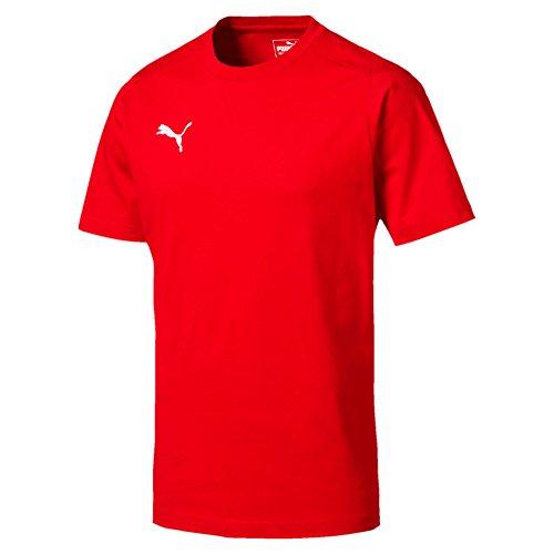 Puma liga casuals tee, maglietta uomo, cyber yellow/black, l