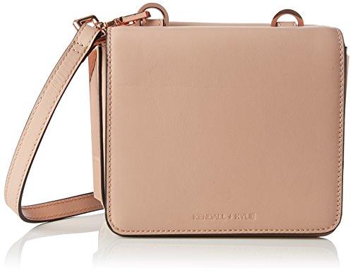 Kendall + Kylie Damen Baxter Tracks Schultertasche, 8x13.5x16 cm Pink (Rose Cloud)