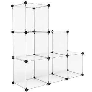 langria wohnzimmerschr nke stufenregal 6. Black Bedroom Furniture Sets. Home Design Ideas